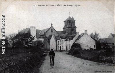Photos et cartes postales anciennes de Séné, 56860