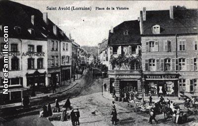 photos et cartes postales anciennes de saint avold 57500. Black Bedroom Furniture Sets. Home Design Ideas