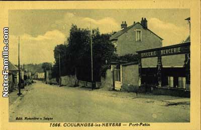 Photos et cartes postales anciennes de coulanges l s for Code postal de nevers