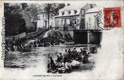 photos et cartes postales anciennes de lucenay l s aix 58380. Black Bedroom Furniture Sets. Home Design Ideas
