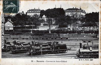 Photos et cartes postales anciennes de nevers 58000 for Code postal de nevers