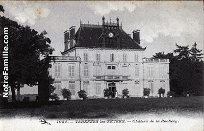 Plan De La Ville De Coulanges Les Nevers