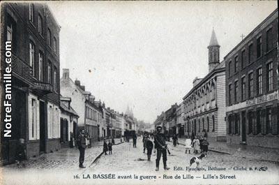 Photos Anciennes Ville De La Bassee
