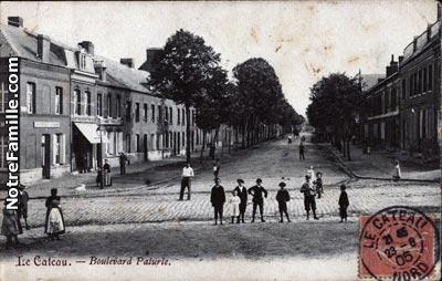 Photos et cartes postales anciennes de le cateau cambr sis for Piscine le cateau