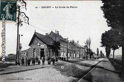 Photos et cartes postales anciennes de dechy 59187 for Piscine sin le noble