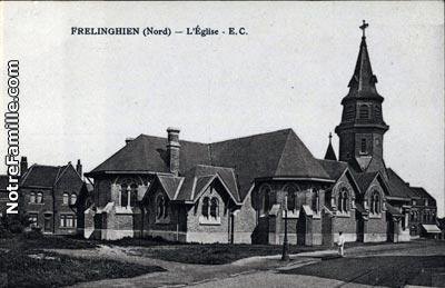 Frelinghem frelinghien (59236, nord) : la ville frelinghien, sa mairie et son