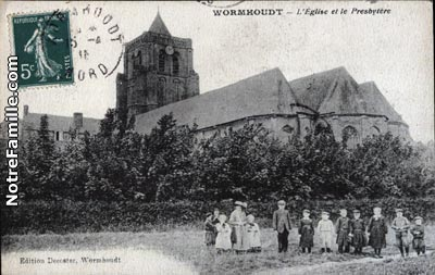 Plan Ville De Wormhout