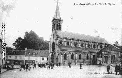 Photos et cartes postales anciennes de coye la for t 60580 - Meteo coye la foret ...