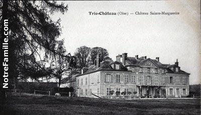 Photos et cartes postales anciennes de trie ch teau 60590 for Piscine trie chateau