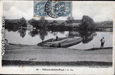 photos et cartes postales anciennes de villers saint paul 60870. Black Bedroom Furniture Sets. Home Design Ideas