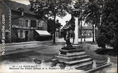 Photos et cartes postales anciennes de la fert mac 61600 for Piscine la ferte mace