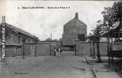 Photos et cartes postales anciennes de bully les mines 62160 for Garage auto bully les mines