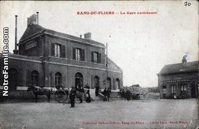 photos et cartes postales anciennes de rang du fliers 62180