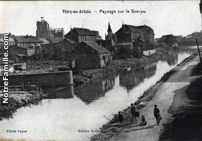 Photos et cartes postales anciennes de vitry en artois 62490 for Aquatis vitry en artois