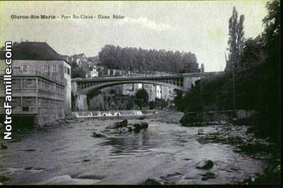 Photos et cartes postales anciennes de oloron sainte marie Piscine oloron sainte marie
