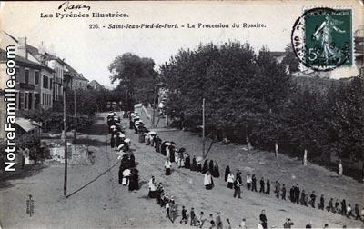 Photos et cartes postales anciennes de saint jean pied de port 64220 - Les pyrenees saint jean pied de port ...
