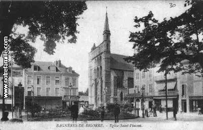 Photos et cartes postales anciennes de bagn res de bigorre - Piscine bagneres de bigorre ...
