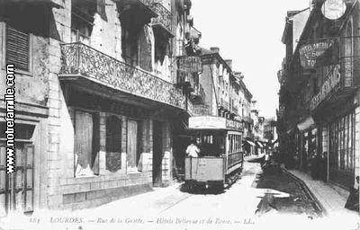 Rue de la Grotte Hotels Bellevue et de Rome