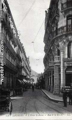 L'Hôtel Moderne. - Rue de la Grotte