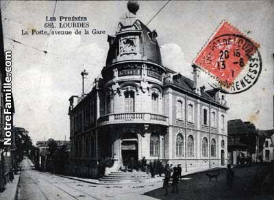 La Poste, avenue de la Gare
