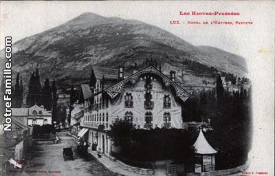 Photos et cartes postales anciennes de luz saint sauveur - Piscine luz saint sauveur ...