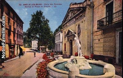 Photos et cartes postales anciennes de am lie les bains - Office de tourisme amelie les bains ...