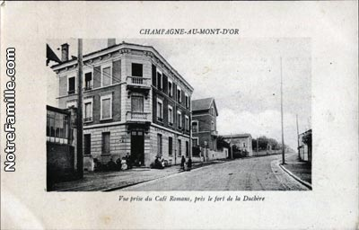 photos et cartes postales anciennes de champagne au mont d 39 or 69410. Black Bedroom Furniture Sets. Home Design Ideas