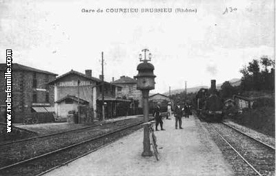 Gare de Courzieu Brussieu