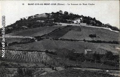 photos et cartes postales anciennes de cyr au mont d or 69450
