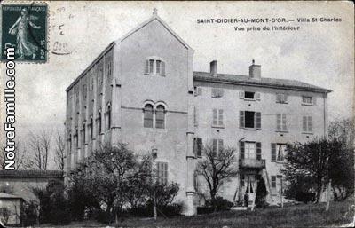 photos et cartes postales anciennes de didier au mont d or 69370