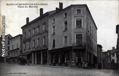 Photos et cartes postales anciennes de saint symphorien - Piscine saint symphorien sur coise ...