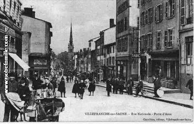 Photos et cartes postales anciennes de villefranche sur - Piscine de villefranche sur saone ...