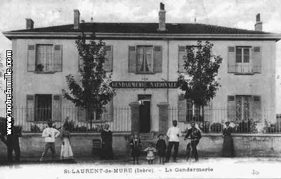 Photos et cartes postales anciennes de saint laurent de mure 69720 - Garage saint laurent de mure ...