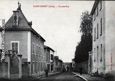 photos et cartes postales anciennes de saint priest 69800. Black Bedroom Furniture Sets. Home Design Ideas