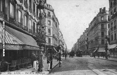Photos et cartes postales anciennes de lyon 1er for 9 rue du jardin des plantes 69001 lyon