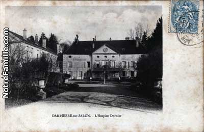 Photos et cartes postales anciennes de dampierre sur salon for 70180 dampierre sur salon