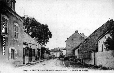 Photos et cartes postales anciennes de frotey l s vesoul for Code postal de vesoul