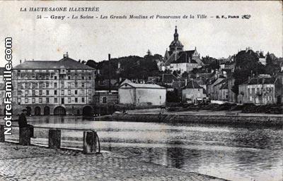 Photos et cartes postales anciennes de gray 70100 for 71 haute saone