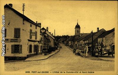 photos et cartes postales anciennes de port sur sa 244 ne 70170