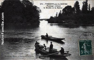 Photos et cartes postales anciennes de verdun sur le doubs - Piscine verdun sur le doubs ...