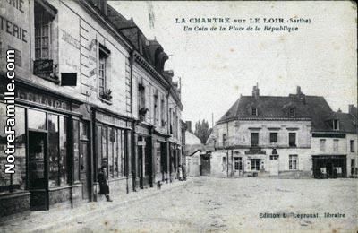 Photos et cartes postales anciennes de la chartre sur le loir 72340 - La chartre sur le loire ...