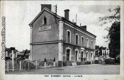 Photos et cartes postales anciennes de commoy 72220 for Restaurant laille 35