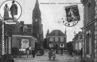 mulsanne 72230 sarthe la ville mulsanne sa mairie et son village sur. Black Bedroom Furniture Sets. Home Design Ideas