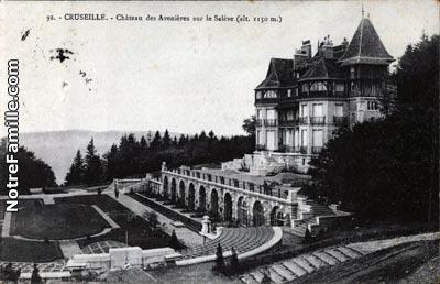 Photos et cartes postales anciennes de cruseilles 74350 - Piscine des dronieres cruseilles ...