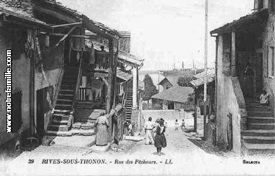 photos et cartes postales anciennes de thonon les bains 74200. Black Bedroom Furniture Sets. Home Design Ideas