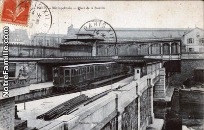 Photos et cartes postales anciennes de paris 12e for Indiana porte de saint cloud