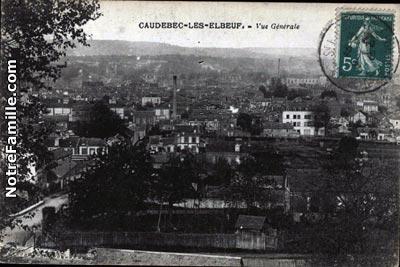 photos et cartes postales anciennes de caudebec l s elbeuf 76320. Black Bedroom Furniture Sets. Home Design Ideas