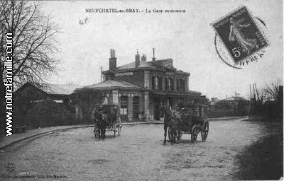 Photos et cartes postales anciennes de neufch tel en bray for 3f haute normandie