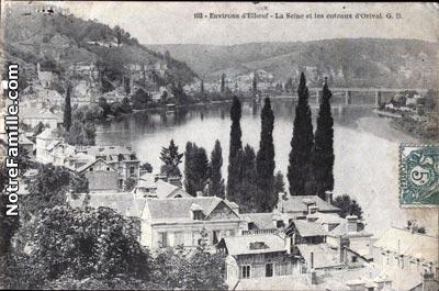 Plan Ville Saint Aubin Les Elbeuf