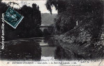 photos et cartes postales anciennes de saint aubin l s elbeuf 76410. Black Bedroom Furniture Sets. Home Design Ideas